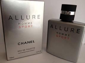 Мужские - Chanel Allure Homme Sport (edt 100ml) Шанель аллюр хом спорт, фото 3