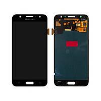 Дисплей для Samsung J500H Galaxy J5 (2015) + touchscreen, черный, оригинал PRC
