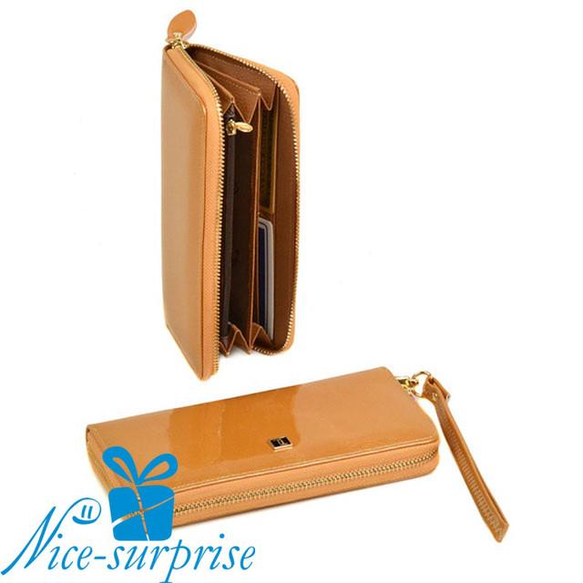 купить женский кожаный кошелёк с ремешком в Одессе