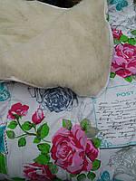 Теплое шерстяное одеяло евро размер, фото 1