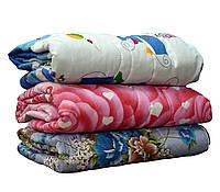 Теплое одеяло овчина полуторное бязь, фото 1