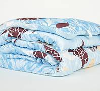 Зимнее стеганное одеяло овчина полуторное бязь, фото 1