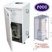 Газовый котел РОСС АОГВ-15 Э (напольный, одноконтурный, 15 кВт, класс Премиум)