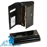 Женский кошелёк из кожи Bretton W46 black (серия Gold), фото 1