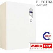 Настенный электрический котел MORA-TOP ELECTRA 06 Comfort (6,0 кВт 220В или 380 В c насосом и расш. баком)