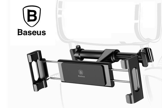 Держатель для планшета в авто с креплением на подголовник Baseus SUHZ