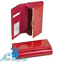 Женский кошелёк из кожи Bretton W46 plum-red (серия Gold), фото 1