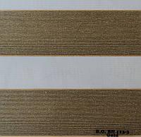 Рулонные шторы День-Ночь Ткань Карина блэк-аут Голд ВН 113\3