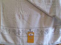 Полотенце для крещения 70*140см. велюр