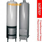 Бойлер - буржуйка КОТВ - 10 (Твердотопливный котел для нагрева воды) Старобельский машзавод