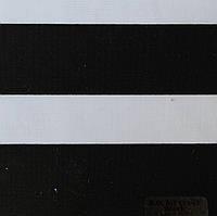 Рулонні штори День-Ніч Тканина Карина блек-аут Чорний ВН 113\10