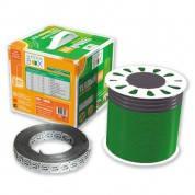 Теплый пол - Тонкий нагревательный кабель на катушке GREEN BOX GB 150