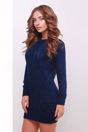 Платье-туника женское вязаное 143, фото 2