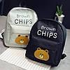 Рюкзак  с мишкой Brown Chips , цвета в наличии