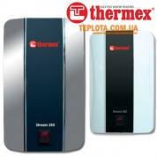 Проточный водонагреватель THERMEX Stream 350 Chrome (Термекс 3,5 кВт, серебристый - хром)