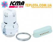 ICMA арт. 987 Термостатическая головка ИКМА 28х1,5 с выносным датчиком температуры
