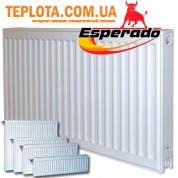 Радиатор стальной ESPERADO тип 22 500х1400мм (боковое подключение, мощность 2633 Вт)