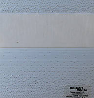 Рулонні штори День-Ніч Тканина Бріонія Білий ВН 115\1