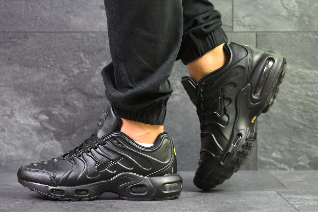 Черные Кожаные Кроссовки Nike Air Max 95 Tn (мужские) 41 — в ... 56273032980