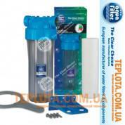 Фильтр колбовый для холодной воды Aquafilter FHPR34-B1-AQ, 3*4 дюйма (Аквафильтр с комплектацией) + картридж
