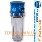 Фильтр колбовый для холодной воды Aquafilter FHBR34  ByPass 3*4 дюйма (Аквафильтр с 3х позиционным клапаном Байпас)