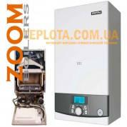 Газовый котел ZOOM BOILERS Expert 18 BF (котел 18 кВт, турбированный, два теплообменника)