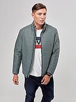 Мужская осенняя куртка К -1 зеленая