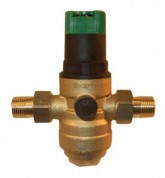 Клапан понижения давления для горячей воды Honeywell D06F-В 1*2  дюйма  (со сбалансированным седлом и установочной шкалой  Хоневелл)