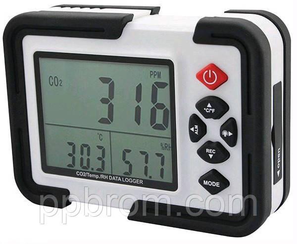 анализатор CO2 - термо-гигрометр HT-2000 Xintest