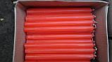 Свеча столовая красная  h- 14 см , фото 5