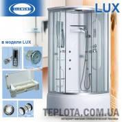 Гидробокс ELEMENT FA – 900 LUX (Душевая кабина 900х900 Китай)