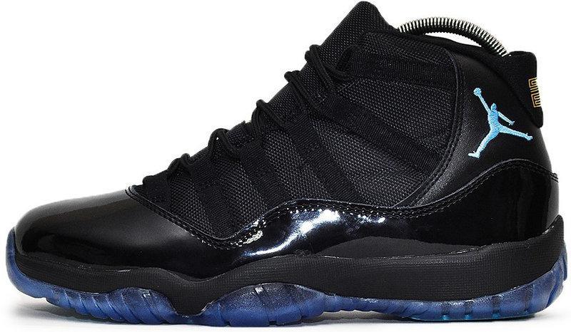 """Баскетбольные кроссовки в стиле Nike Air Jordan 11 Retro """"Black"""""""
