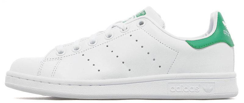 "Женские кроссовки в стиле Adidas Stan Smith ""White/Green"""