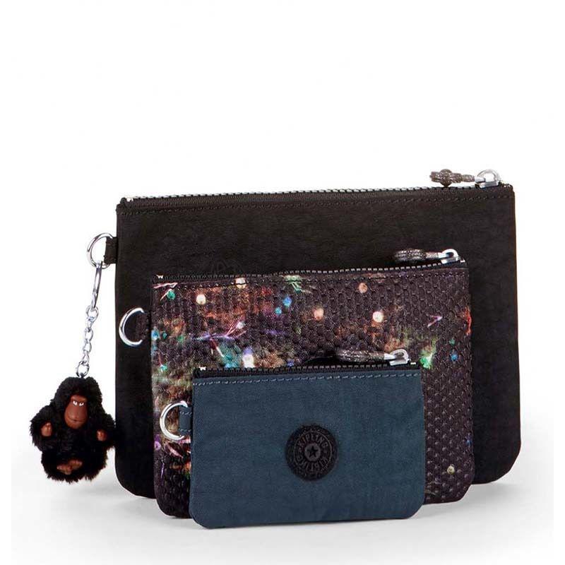 bc80f8e85249 Набор косметичек Kipling IAKA Winter Firework (K10978_F25) -  Интернет-магазин брендовых сумок,