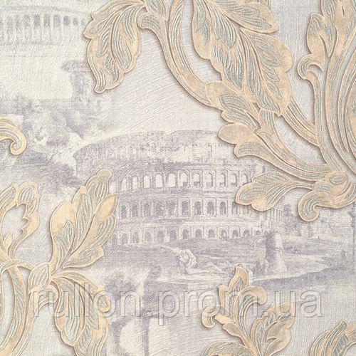Обои Sirpi Roma, Обои виниловые на флизелиновой основе,для гостиной, спальни , кабинета 88520