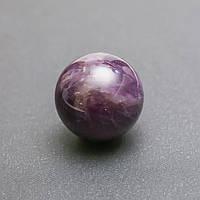 Шар сувенир из натурального камня Аметист d-2,5см
