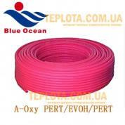 Труба для теплого пола BLUE OCEAN 16 мм A-Oxy PERT-EVOH-PERT - пятислойные полимерные композитные трубы с кислородным барьером