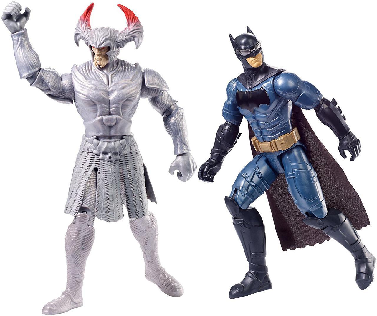 Бэтмен, Набор две фигурки по 30 см, Бетмен и Степной Волк, DC Justice League, Batman vs Steppenwolf