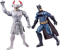 Бэтмен, Набор две фигурки по 30 см, Бетмен и Степной Волк, DC Justice League, Batman vs Steppenwolf, фото 1