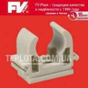 FV PLAST Крепление для труб одинарное диаметр 25мм