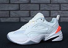 Женские кроссовки Nike M2K Tekno White. ТОП Реплика ААА класса., фото 3