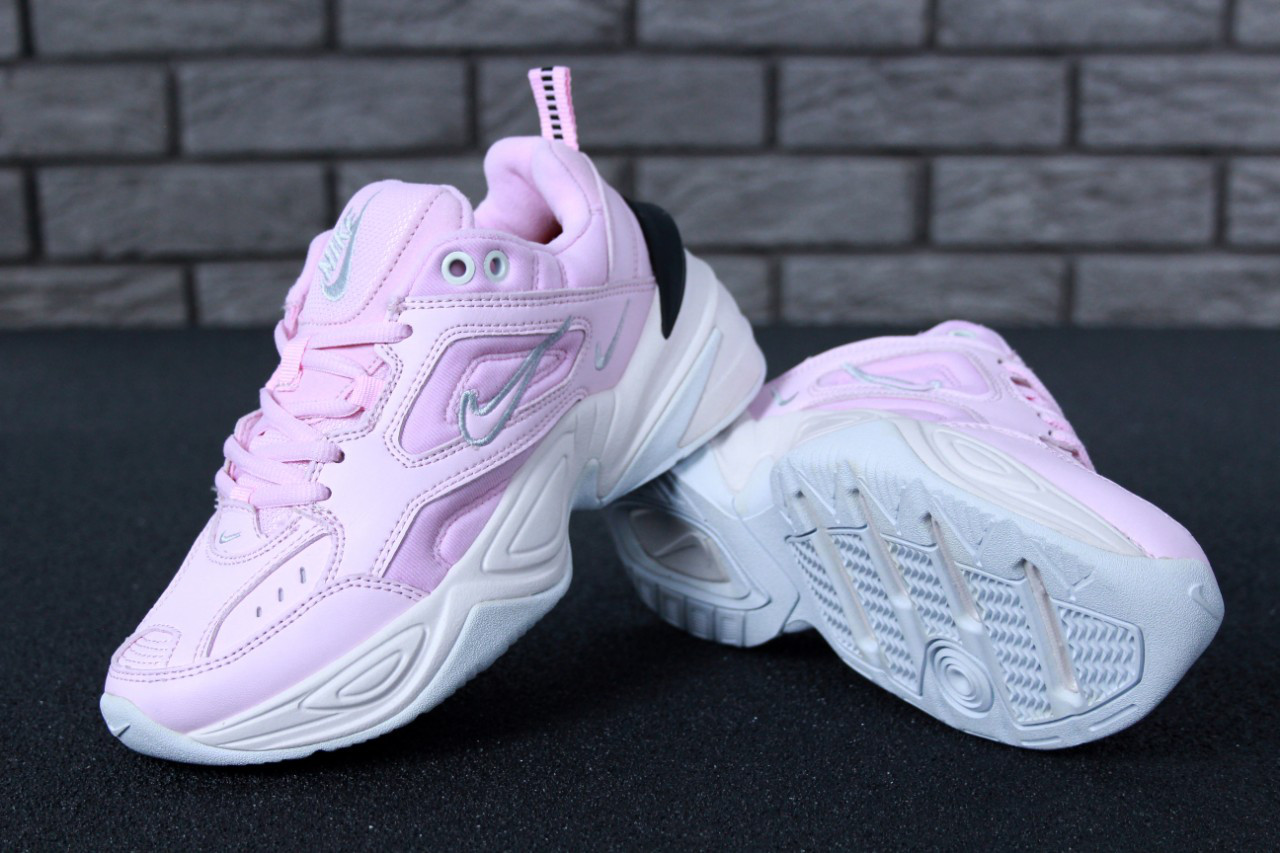 eafa3f18 Женские кроссовки Nike M2K Tekno Pink. ТОП Реплика ААА класса. - Магазин  спортивной обуви