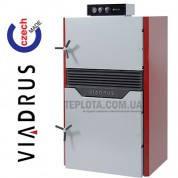 Твердотопливный пиролизный котел Viadrus  Hefaistos P1 Е (5 секции, 50 кВт)