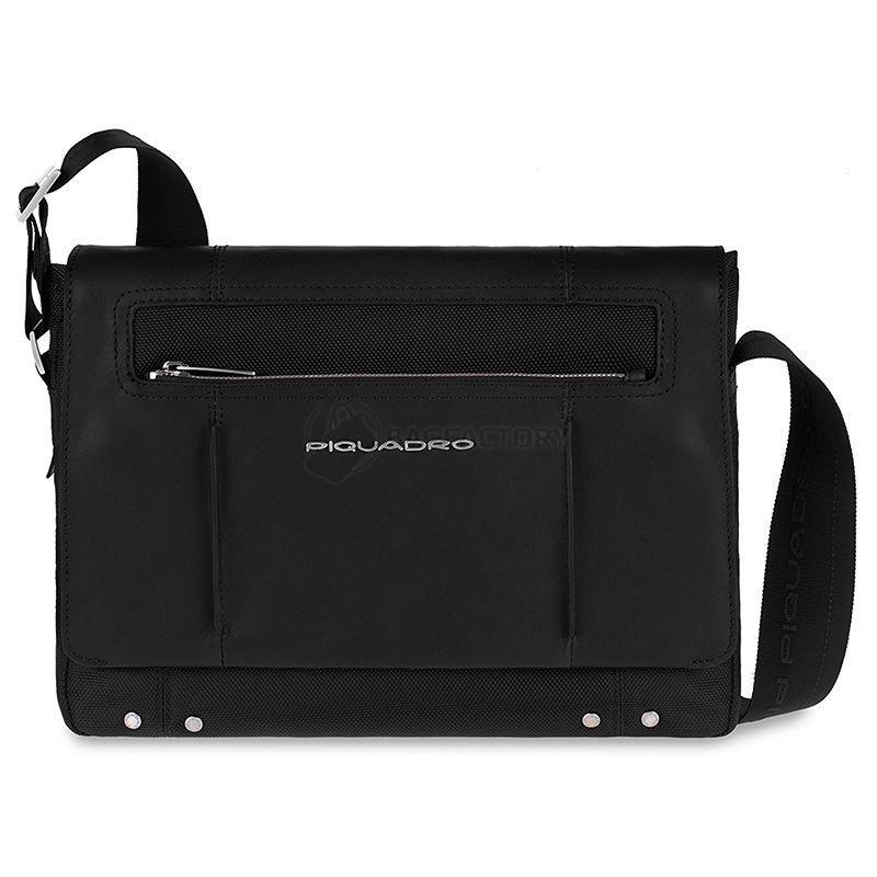 96d5a719c20a Мужская сумка Piquadro LINK Black с отдел. для iPad/нетбука (CA2224LK_N)