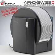 Мойка воздуха Boneco 1355N black (увлажнение и очистка воздуха от Бонеко, цвет - черный)