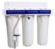 Проточный бытовой фильтр для воды A.O. Smith (Shanghai) RO GL-(10-3) трехступенчатый подмоечный