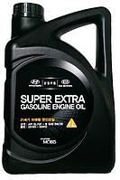 Моторное масло синтетика Hyundai Super Extra Gasoline 5w30 4л