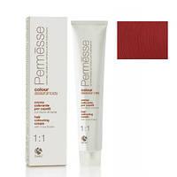 6,66 Темний блондин червоний глибокий, Barex Permesse Крем - фарба для волосся з маслом каріте 100 мл
