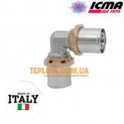 Пресс-фитинг колено равноразмерное 16-16 ICMA SEMPITER арт.403