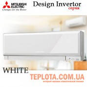 Кондиционер MITSUBISHI ELECTRIC MSZ-EF25VEW Design Inverter, инвертор, белый